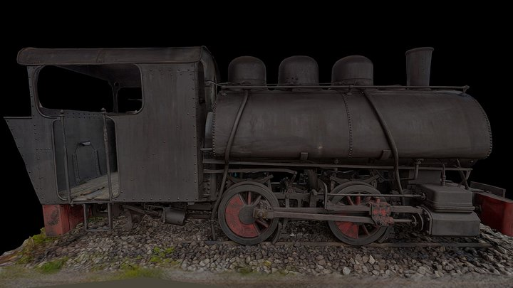 Locomotive Hunosa SIA 1, 1916 3D Model