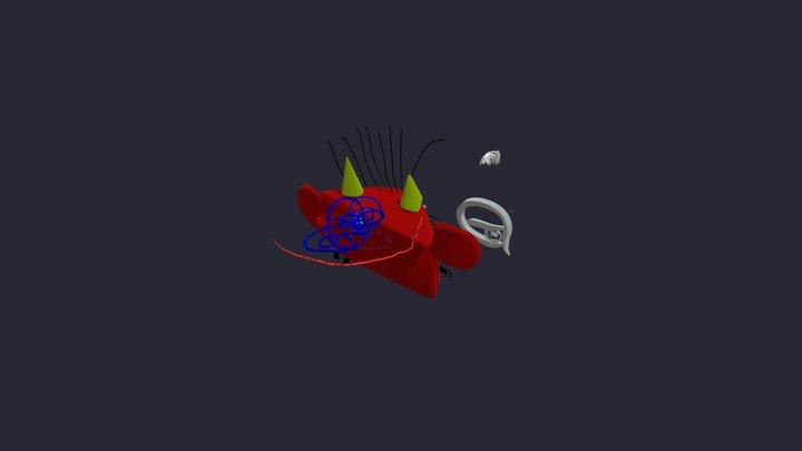 funny devil 3D Model
