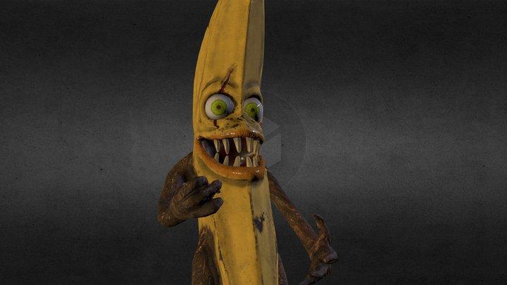 Monster Banana 3D Model