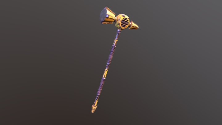 """Hammer """"citizen"""" 3D Model"""