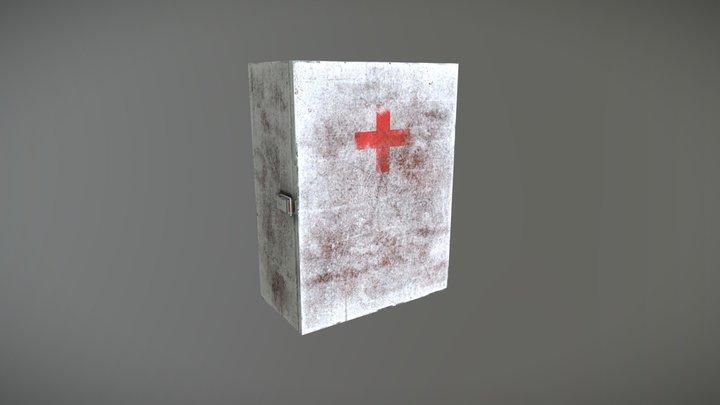 Old Medicine Cabinet 3D Model