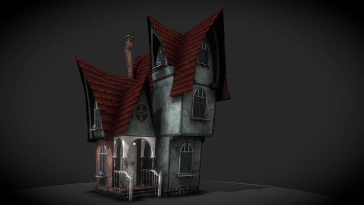 RUSTIC HOUSE 3D Model