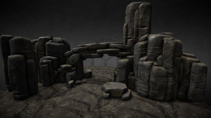 Rocks Set 3 3D Model