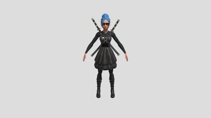 Sam the Hunter 3D Model