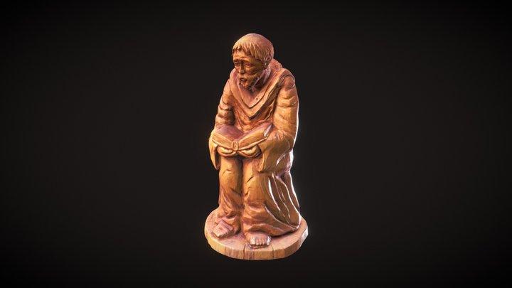Hugolín Gavlovič Statue 3D Model