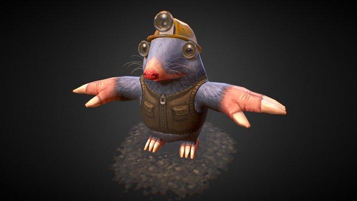 MoleWIP 3D Model
