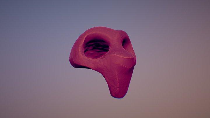 Sculpt January 02 | M a s k 3D Model