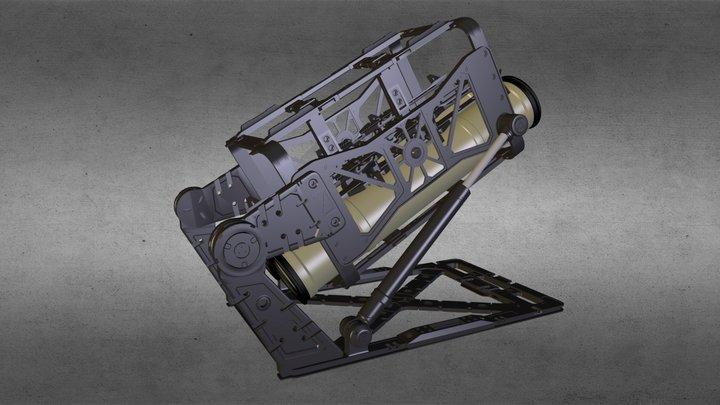 Rocket pod 3D Model