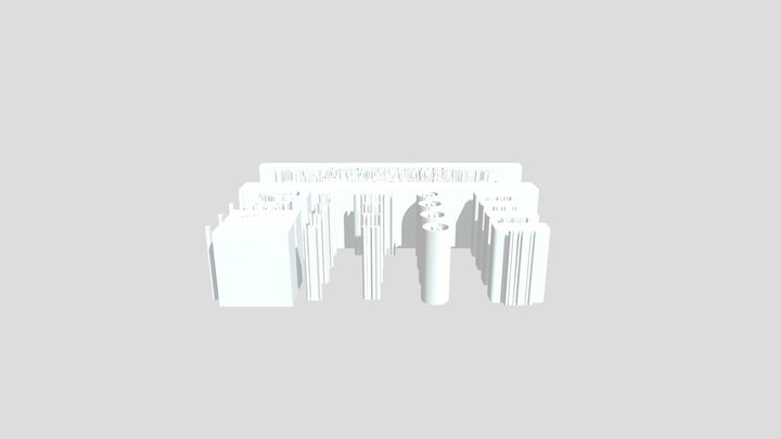 Luxembourg Main 3D Model