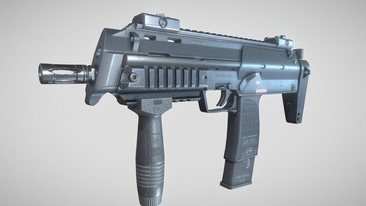HK MP7A2 3D Model