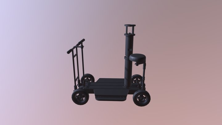 Round-d-Round Dolly 3D Model