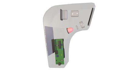 Barcode Scanner 3D Model