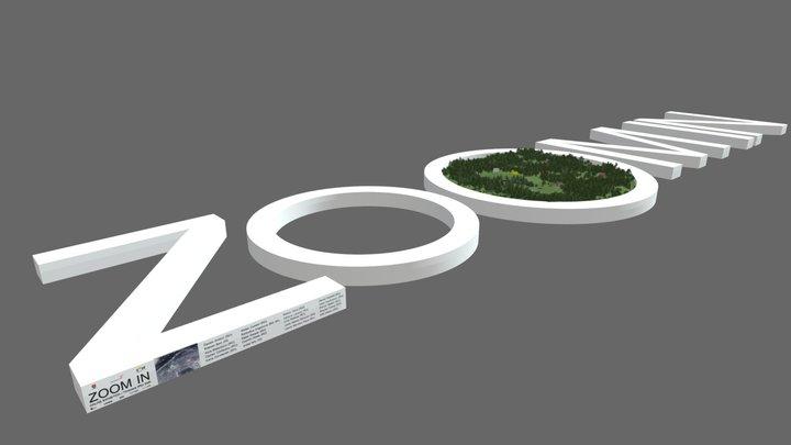 Zoom In 3D Model