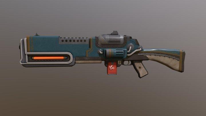 Plasma Rifle 3D Model