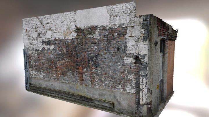 Derelict Wall Scan 3D Model