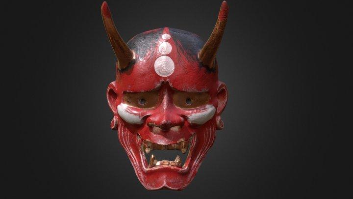 Japanese Mask 3D Model