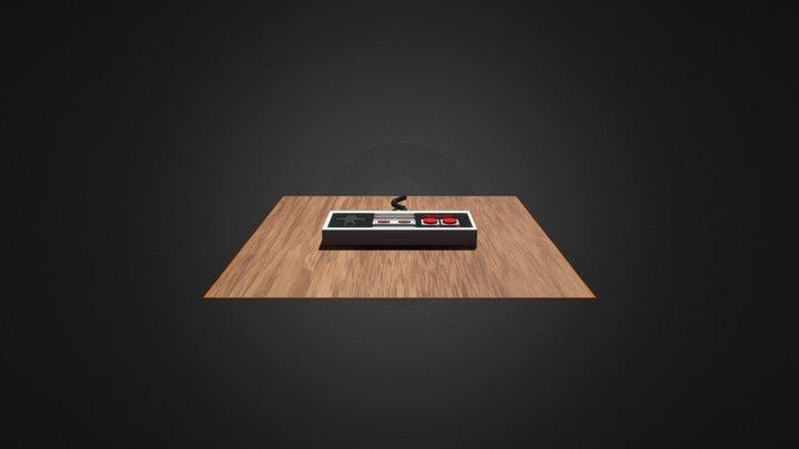 NES CONTROLLER 3D Model