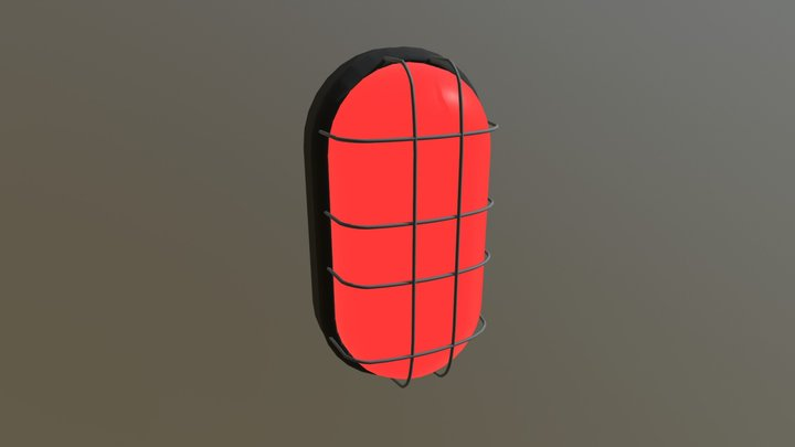 LED (Big) Light 3D Model