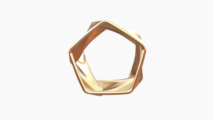 Flux Gold 3D Model