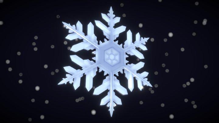 3December2018 Day17 - Snowflake 3D Model