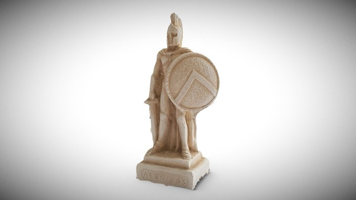 Leonidas Of Sparta 3D Model