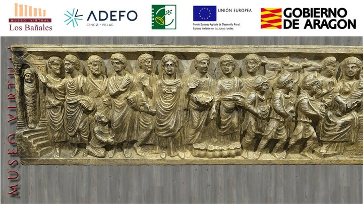 Sarcófago paleocristiano historiado (siglo IV) 3D Model