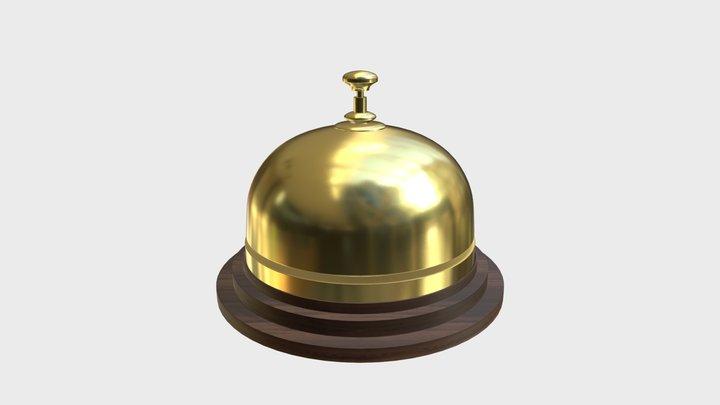 Reception bell 2 3D Model