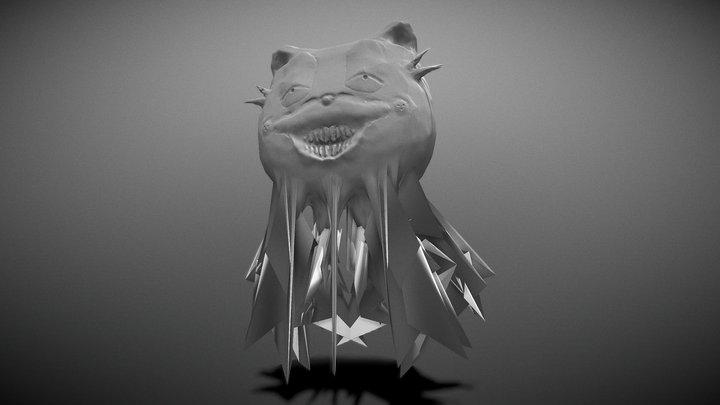 Corrupted Eldritch Garfield 3D Model