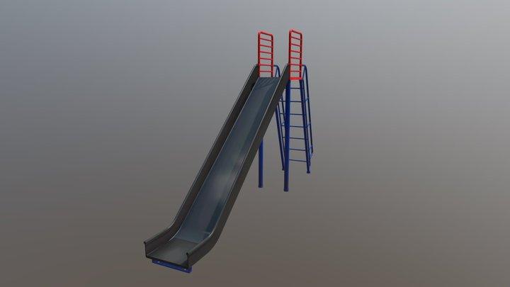 Children's Slide 3D Model