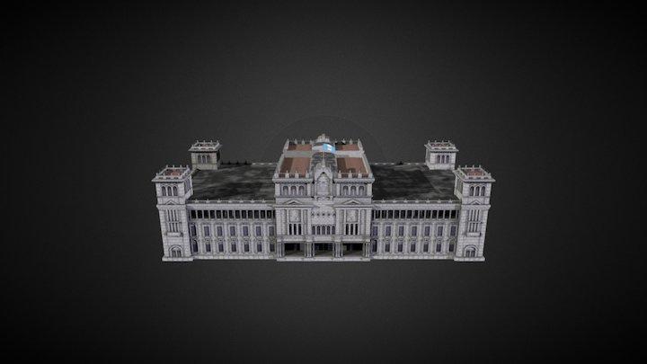 Palacio Nacional De La Cultura (Guatemala) 3D Model