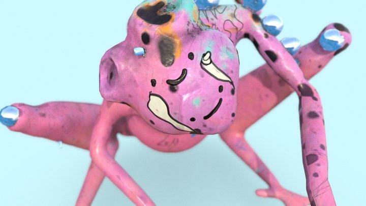 Bodied Frog lvl5 3D Model