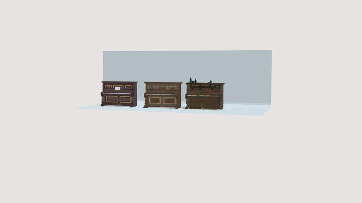 "XYZ Home ""Piano"" 3D Model"