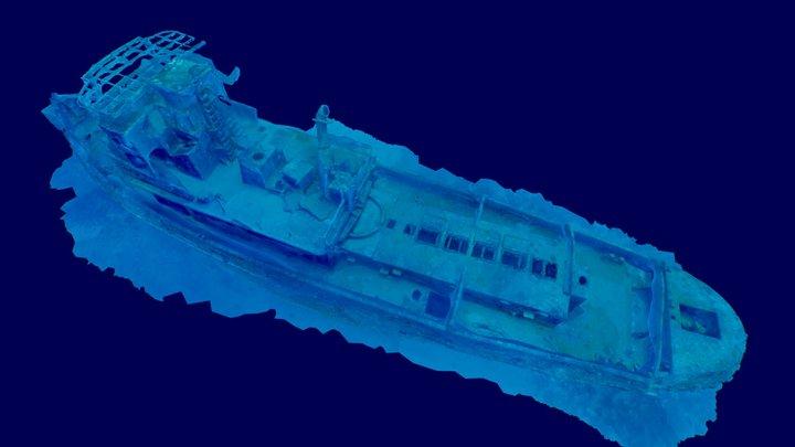 Tugboat Mars - (Rebocador Marte) 3D Model
