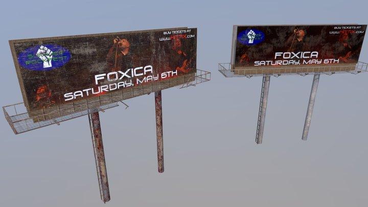 Billboards New Vs Old 3D Model