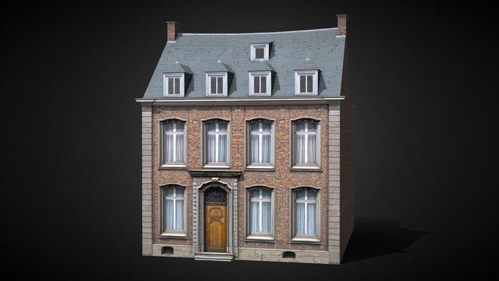 Nivelles House 9 [Belgium] 3D Model