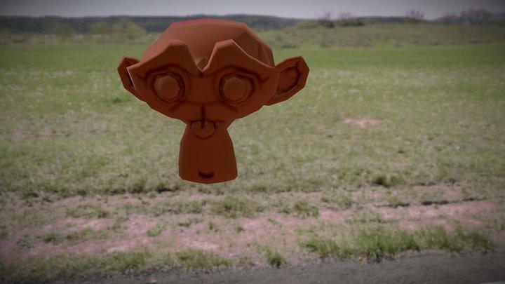 Scimmietta 3D Model