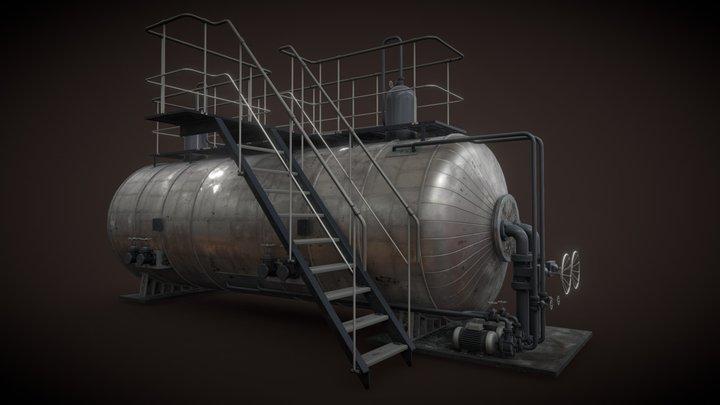 Oil, Gaz, water separator 3D Model