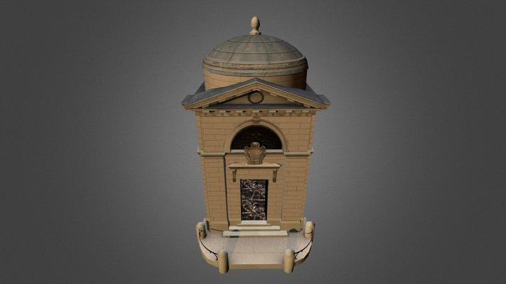 Tomba di Dante 3D Model
