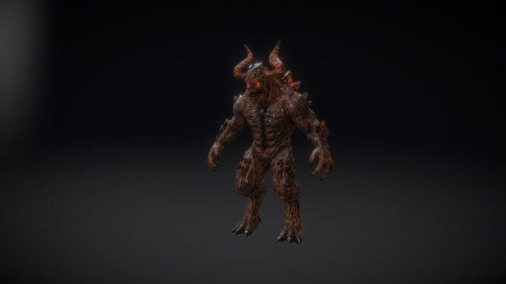 HROFT: Demon 3D Model