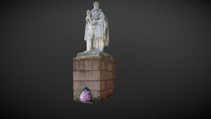 Szovjet Emlékmű - Szlovákia 3D Model