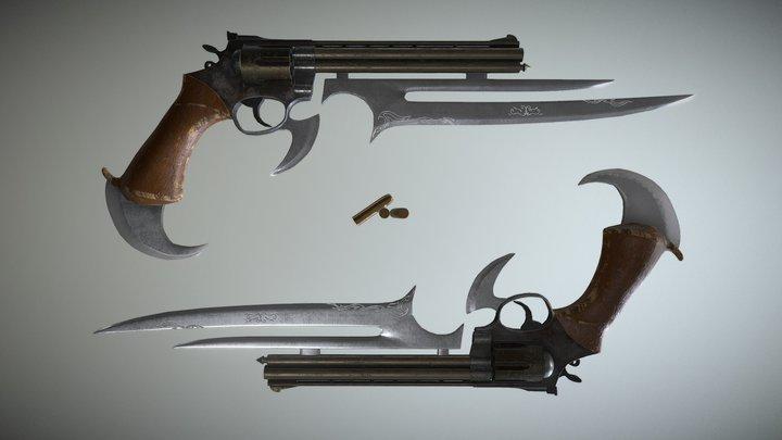 Gun-Blade 2 3D Model