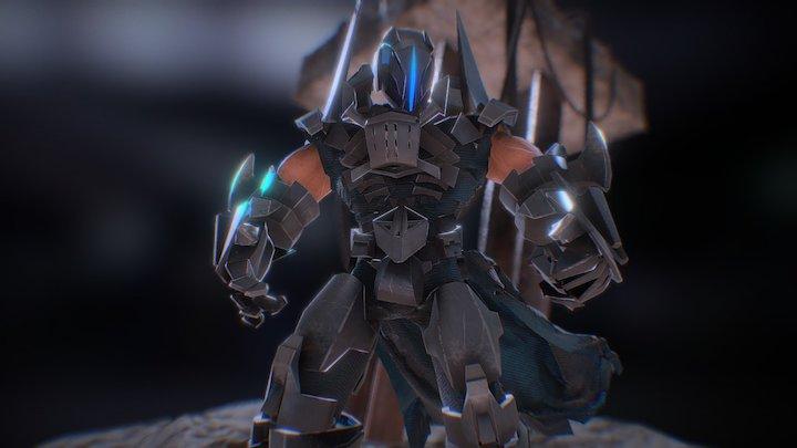 Rage - Hybrid Cyborg 3D Model