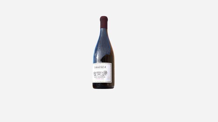Wine Tarapacá Gran Reserva 3D Model