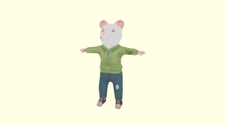 Hobo Rat 3D Model