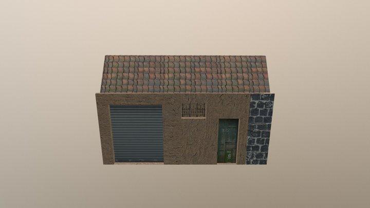 Italian grocery house 3D Model