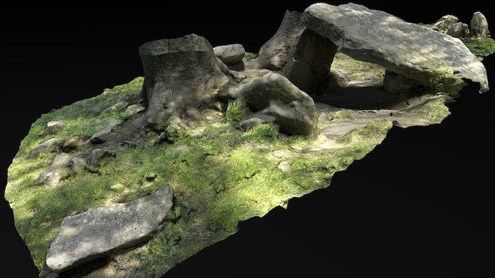 Dolmen de Buendía, Sierra de Grazalema, Málaga 3D Model