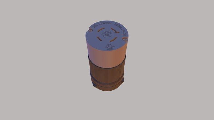 CASA DAS TOMADAS L14-20C 3D Model