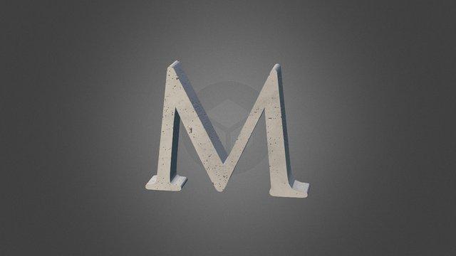 M 3D Model
