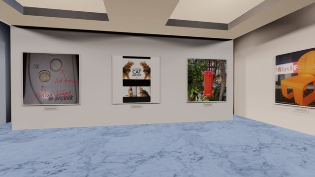 Instamuseum for @minifabrikam 3D Model
