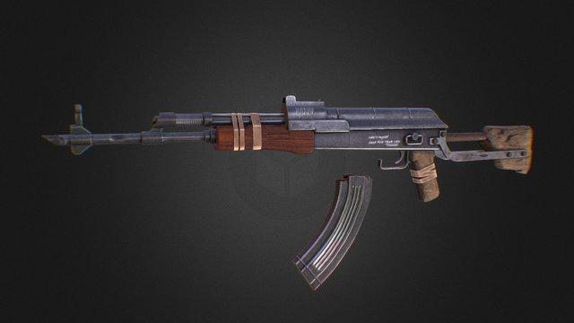 AK-scullcrusher 3D Model